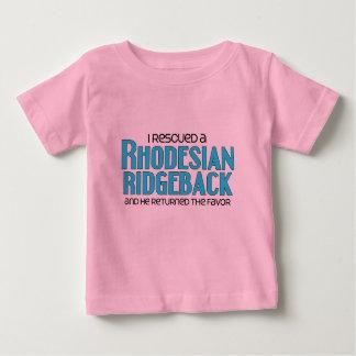 I Rescued a Rhodesian Ridgeback (Male Dog) Baby T-Shirt