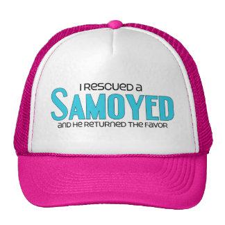 I Rescued a Samoyed (Male Dog) Cap