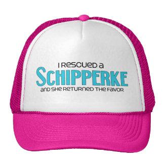 I Rescued a Schipperke (Female Dog) Cap