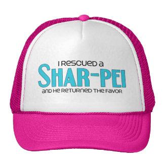I Rescued a Shar-Pei (Male Dog) Cap