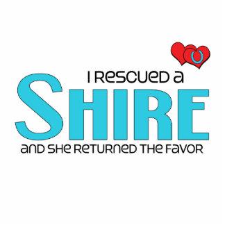 I Rescued a Shire Female Horse Photo Cutout
