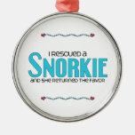 I Rescued a Snorkie (Female) Dog Adoption Design