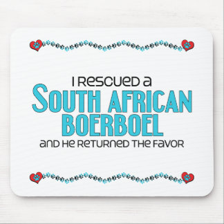 I Rescued a South African Boerboel (Male Dog) Mouse Pad