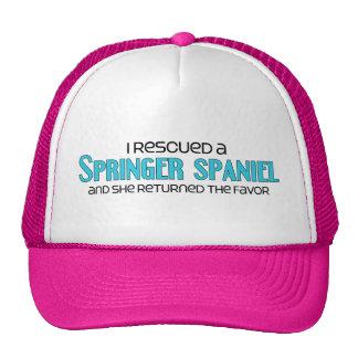 I Rescued a Springer Spaniel (Female Dog) Hat