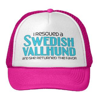 I Rescued a Swedish Vallhund (Female Dog) Trucker Hat