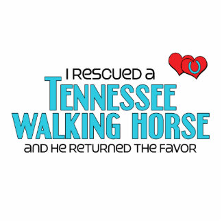 I Rescued a Tennessee Walking Horse (Male Horse) Cut Outs