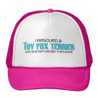 I Rescued a Toy Fox Terrier (Female Dog) Cap
