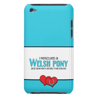I Rescued a Welsh Pony Female Pony iPod Case-Mate Cases