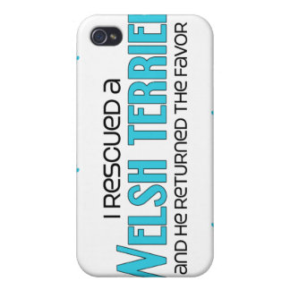 I Rescued a Welsh Terrier (Male Dog) iPhone 4/4S Case