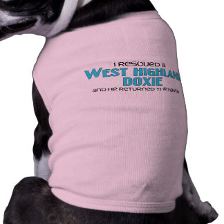 I Rescued a West Highland Doxie Male Dog Dog Clothes