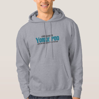 I Rescued a Yorkie Poo (Male) Dog Adoption Design Hoodie