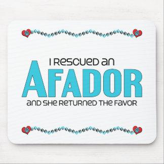 I Rescued an Afador (Female) Dog Adoption Design Mouse Pad