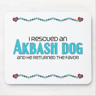 I Rescued an Akbash Dog (Male Dog) Mousepad