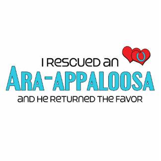 I Rescued an Ara-Appaloosa (Male Horse) Photo Sculpture Magnet