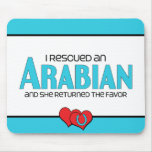 I Rescued an Arabian (Female Horse) Mouse Mats
