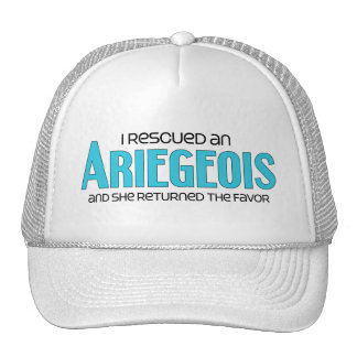 I Rescued an Ariegeois (Female Dog) Cap