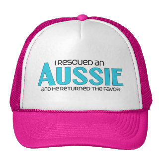 I Rescued an Aussie (Male Dog) Hat