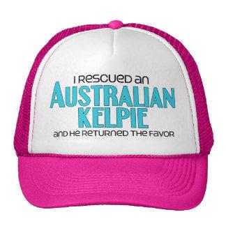 I Rescued an Australian Kelpie (Male Dog) Cap