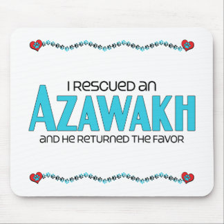 I Rescued an Azawakh (Male Dog) Mouse Pad