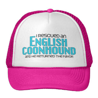 I Rescued an English Coonhound (Male Dog) Cap