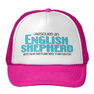 I Rescued an English Shepherd (Female Dog) Cap