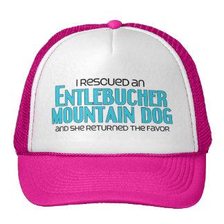 I Rescued an Entlebucher Mountain Dog (Female Dog) Cap