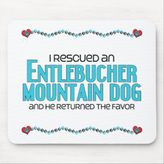 I Rescued an Entlebucher Mountain Dog (Male Dog) Mouse Pad