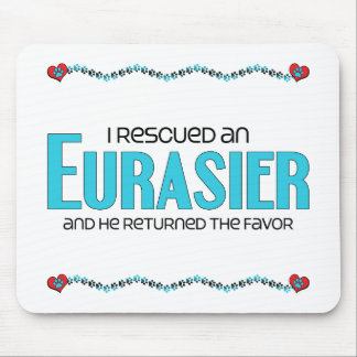 I Rescued an Eurasier (Male Dog) Mouse Pad