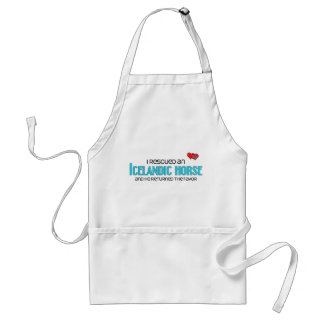 I Rescued an Icelandic Horse (Male Horse) Adult Apron