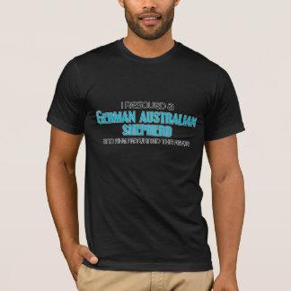 I Rescued German Australian Shepherd (Female Dog) T-Shirt