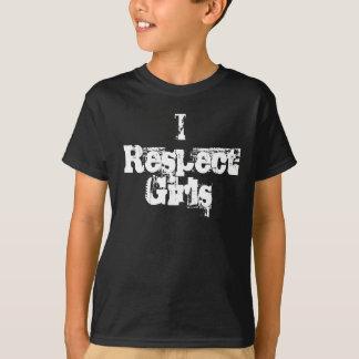 I Respect Girls - Boys' Customizable Shirt