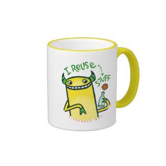 I Reuse Stuff -- mugs