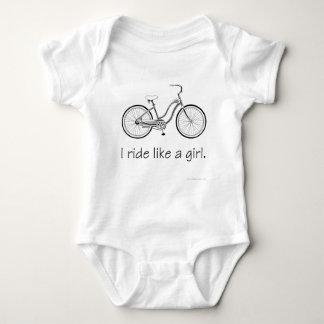 I ride like a girl. t shirts
