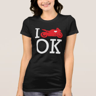 I Ride Oklahoma Tee Shirt