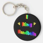 I Ring Handbells Key Chain