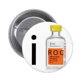 I ROC anesthesia 6 Cm Round Badge