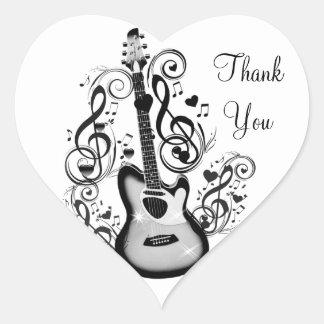 I Rock #5_ Heart Sticker