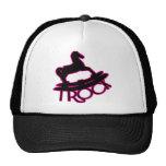 i RoCk HoT PiNk Mesh Hats
