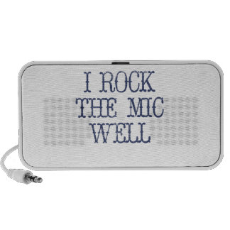 I Rock the Mic Well Travel Speakers