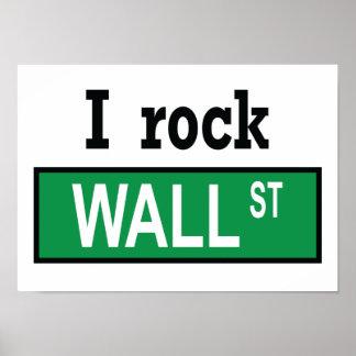 I rock Wall Street - Poster