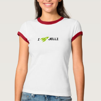 I Rocket Jelli - Light Color T-Shirt