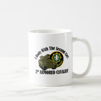 I Rode With The 2nd ACR!  Bradley Classic White Coffee Mug