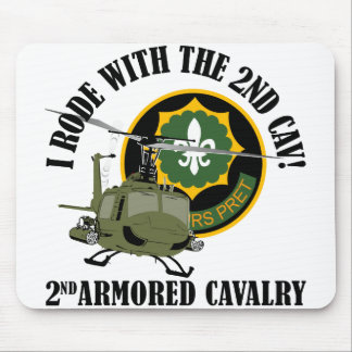 I Rode With The 2nd ACR Mousepad