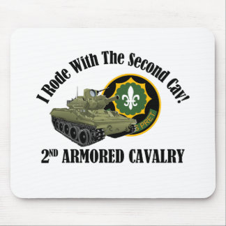 I Rode With The 2nd Cav - 2nd ACR M551 Mouse Pad