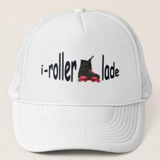 i-rollerblade Men's White Trucker Hat