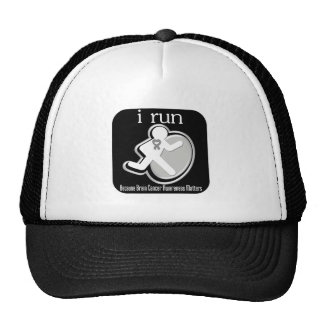 i Run Because Brain Cancer Matters Trucker Hat