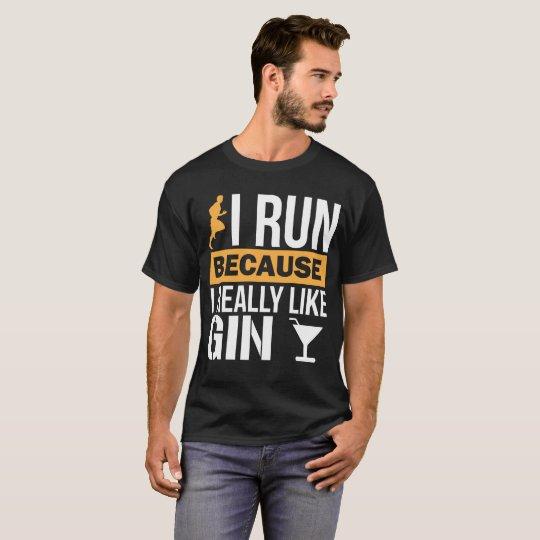 I Run because I Really Like Gin Liquor