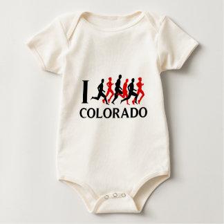 I RUN COLORADO BABY BODYSUIT