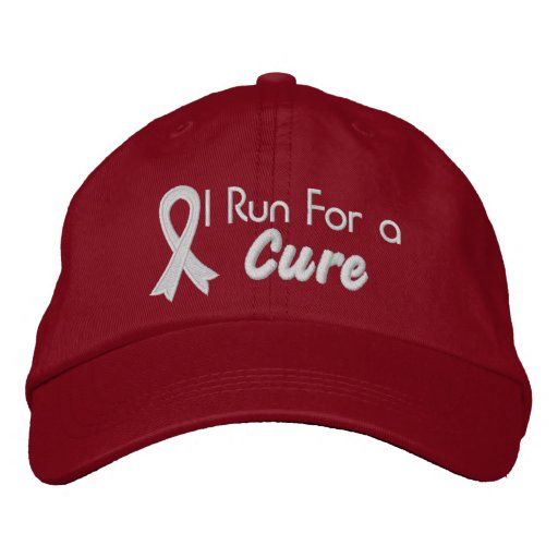 I Run For a Cure - Lung Cancer Baseball Cap