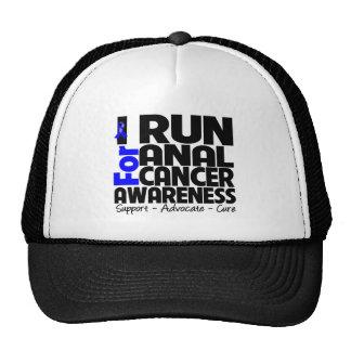 I Run For Anal Cancer Awareness Cap